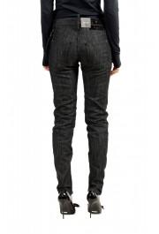 "Dsquared2 Women's ""Medium Waist Skinny Jean"" Black Wash Jeans: Picture 3"