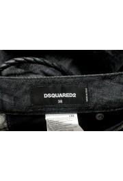 "Dsquared2 Women's ""Medium Waist Skinny Jean"" Black Wash Jeans: Picture 4"