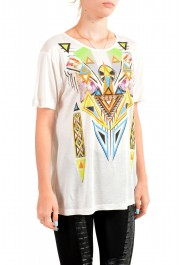Just Cavalli Women's Multi-Color Beads Embellished T-Shirt: Picture 2