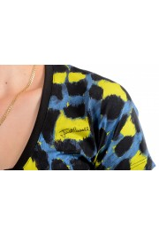 Just Cavalli Women's Multi-Color Animal Print Stretch T-Shirt : Picture 4