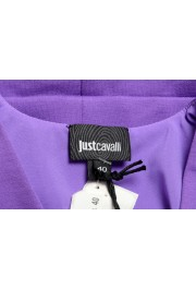 Just Cavalli Women's Purple Short Sleeve Blouse Top : Picture 5