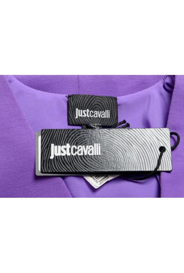 Just Cavalli Women's Purple Short Sleeve Blouse Top : Picture 6