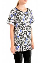Just Cavalli Women's Multi-Color Crewneck Oversized T-Shirt : Picture 2