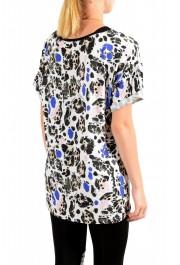 Just Cavalli Women's Multi-Color Crewneck Oversized T-Shirt : Picture 3