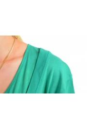 Just Cavalli Women's Emerald Green Crewneck T-Shirt: Picture 4