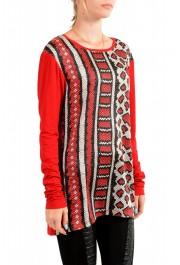 Just Cavalli Women's Animal Print Crewneck Long Sleeve Blouse Top : Picture 2