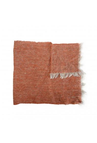 Sferra Unisex Gray &Orange Mohair Wool Scarf: Picture 2