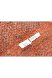 Sferra Unisex Gray &Orange Mohair Wool Scarf: Picture 3