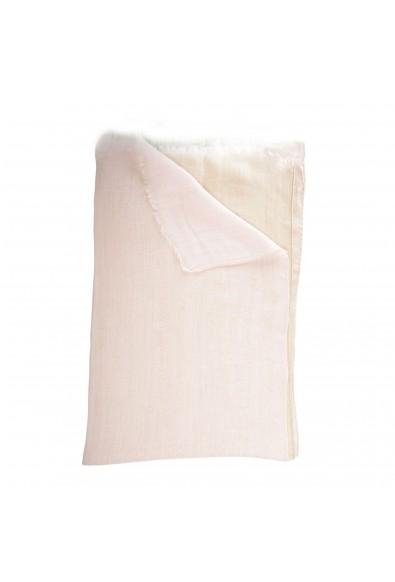 Sferra Unisex Two-Tone Linen Silk Scarf: Picture 2