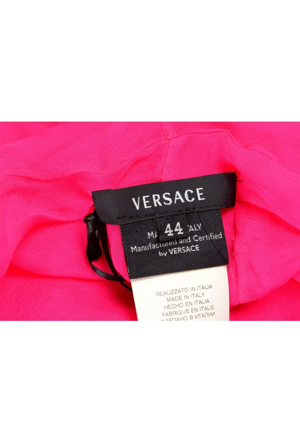 Versace Women's Bright Pink 100% Scarf: Picture 2