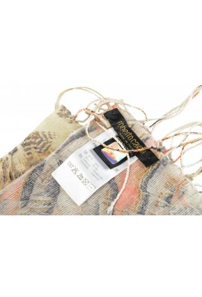 Roberto Cavalli Women's Multi-Color Silk Cashmere Scarf: Picture 2