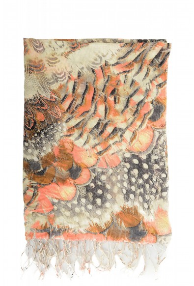 Roberto Cavalli Women's Multi-Color Silk Cashmere Scarf