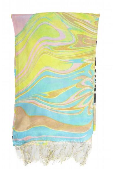 Roberto Cavalli Women's Multi-Color 100% Silk Scarf