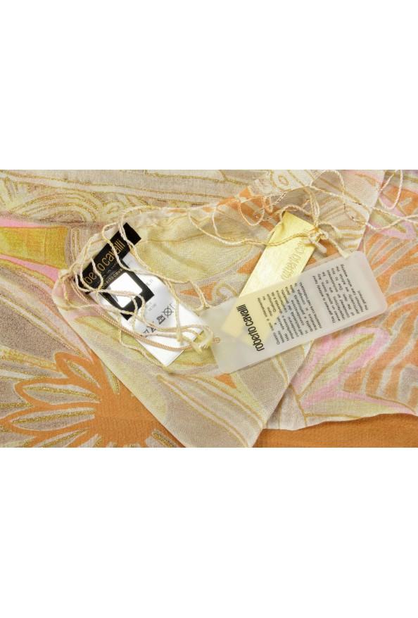 Roberto Cavalli Women's Multi-Color 100% Silk Scarf: Picture 3