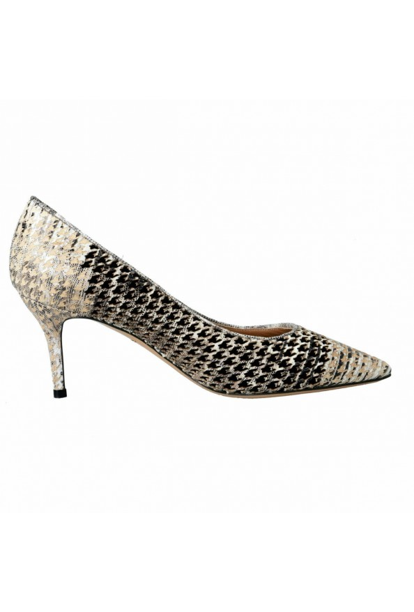 "Salvatore Ferragamo ""Susi 70Pat"" Leather High Heel Pumps Shoes: Picture 4"
