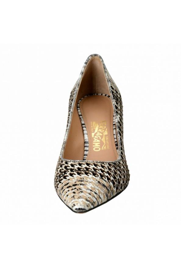 "Salvatore Ferragamo ""Susi 70Pat"" Leather High Heel Pumps Shoes: Picture 5"
