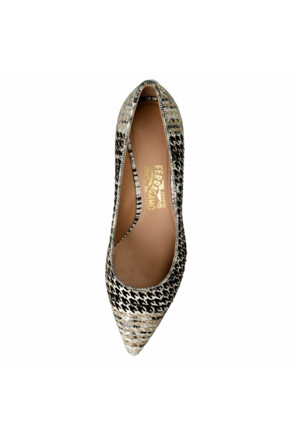 "Salvatore Ferragamo ""Susi 70Pat"" Leather High Heel Pumps Shoes: Picture 7"