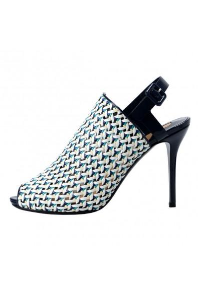 "Salvatore Ferragamo ""Petal"" Leather High Heel Pumps Shoes: Picture 2"