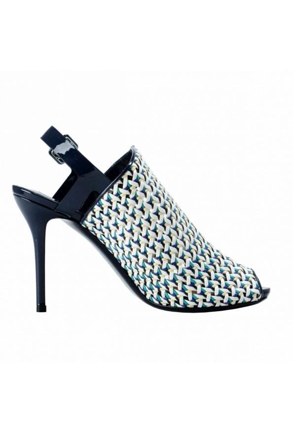 "Salvatore Ferragamo ""Petal"" Leather High Heel Pumps Shoes: Picture 4"