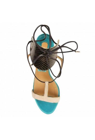 "Salvatore Ferragamo ""Pegan"" Leather High Heel Sandals Shoes: Picture 2"