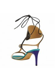 "Salvatore Ferragamo ""Pegan"" Leather High Heel Sandals Shoes: Picture 3"