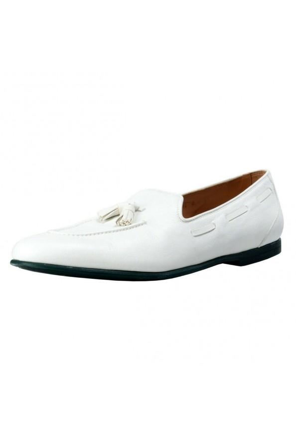 """Salvatore Ferragamo """"Riva"""" Leather Loafers Shoes"""