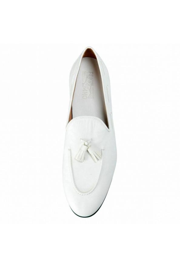 """Salvatore Ferragamo """"Riva"""" Leather Loafers Shoes : Picture 6"""