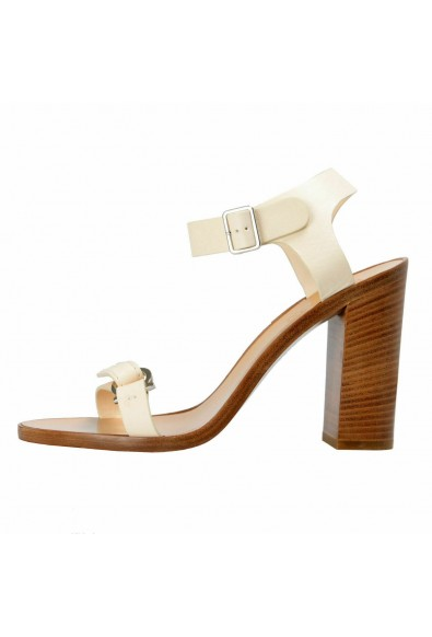 "Salvatore Ferragamo Women's ""Palba"" Leather High Heel Sandals Shoes: Picture 2"