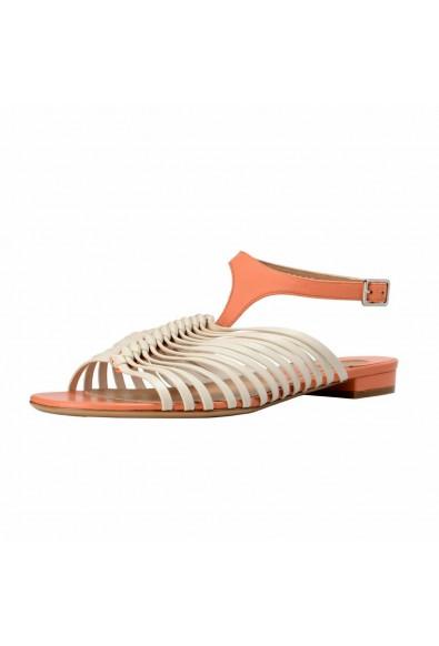 "Salvatore Ferragamo ""Pilly"" Leather Sandals Shoes"