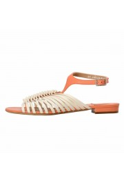 """Salvatore Ferragamo """"Pilly"""" Leather Sandals Shoes: Picture 2"""