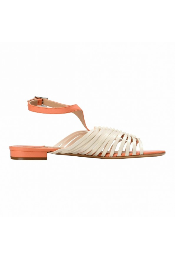 """Salvatore Ferragamo """"Pilly"""" Leather Sandals Shoes: Picture 4"""