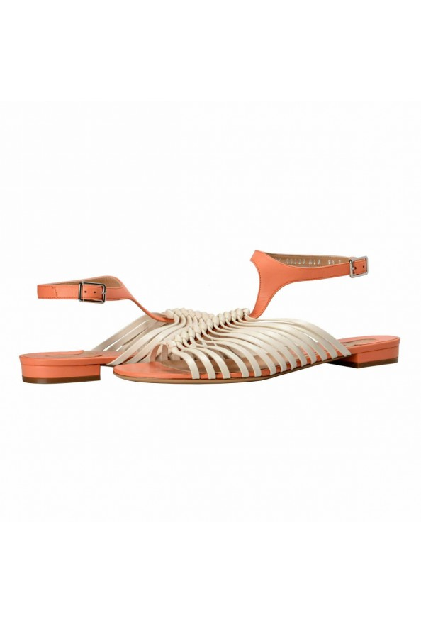 """Salvatore Ferragamo """"Pilly"""" Leather Sandals Shoes: Picture 8"""