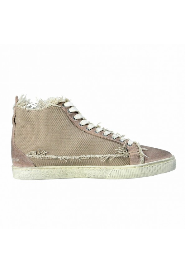 Dolce & Gabbana Men's Canvas Distressed Fashion Sneakers Shoes Keds: Picture 4