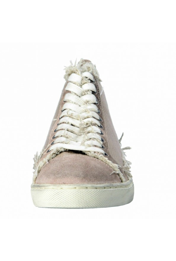 Dolce & Gabbana Men's Canvas Distressed Fashion Sneakers Shoes Keds: Picture 5