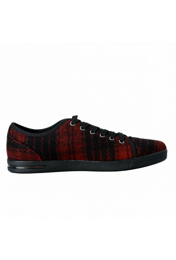 Dolce & Gabbana Women's Canvas Leather Fashion Sneakers Shoes: Picture 4