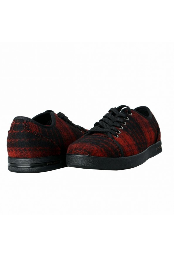 Dolce & Gabbana Women's Canvas Leather Fashion Sneakers Shoes: Picture 8