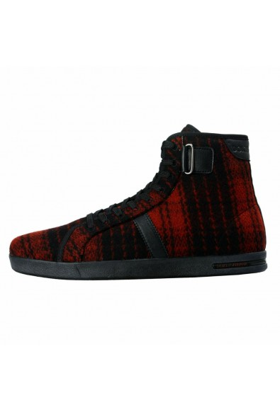 Dolce & Gabbana Women's Canvas Leather Hi Top Fashion Sneakers Shoes: Picture 2