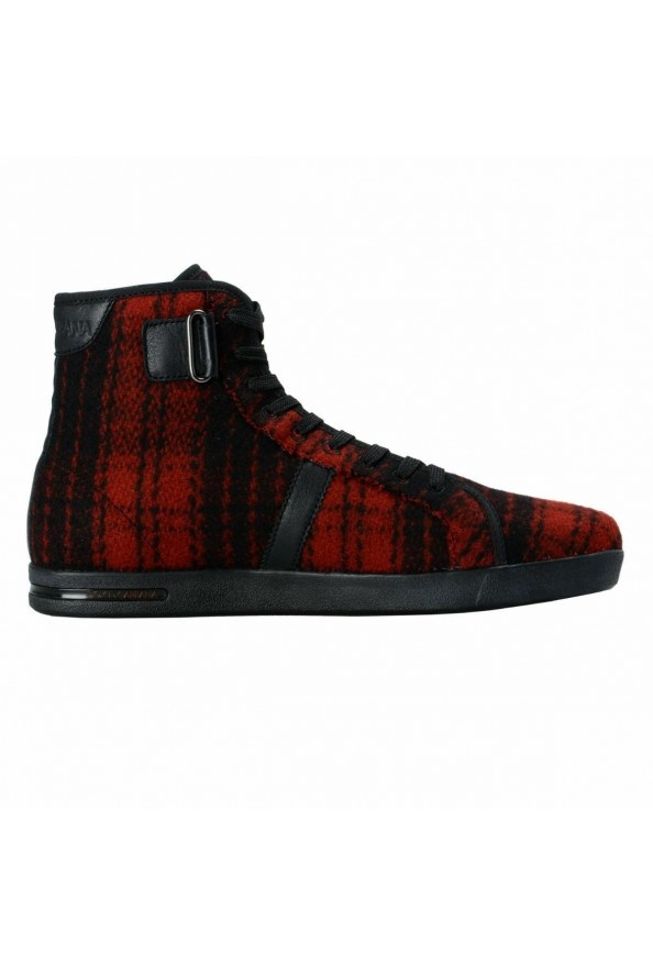 Dolce & Gabbana Women's Canvas Leather Hi Top Fashion Sneakers Shoes: Picture 4