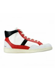 Dolce & Gabbana Men's Canvas Leather Hi Top Sneakers Shoes: Picture 4