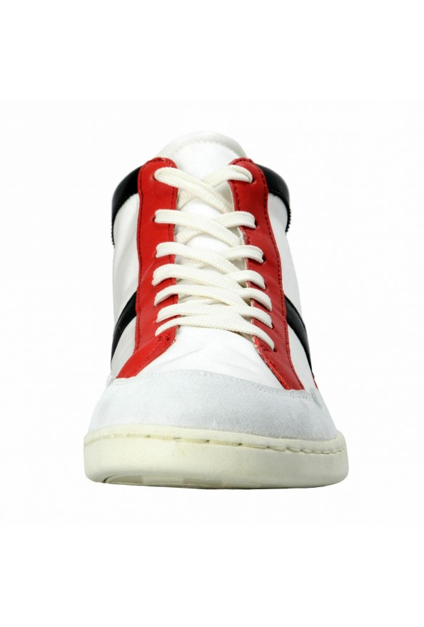 Dolce & Gabbana Men's Canvas Leather Hi Top Sneakers Shoes: Picture 5
