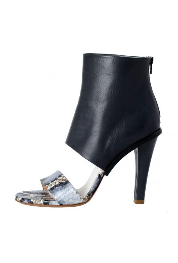 Maison Margiela 22 Women's Python Leather High Heel Sandals Shoes: Picture 2