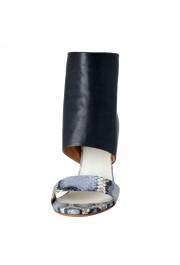 Maison Margiela 22 Women's Python Leather High Heel Sandals Shoes: Picture 5