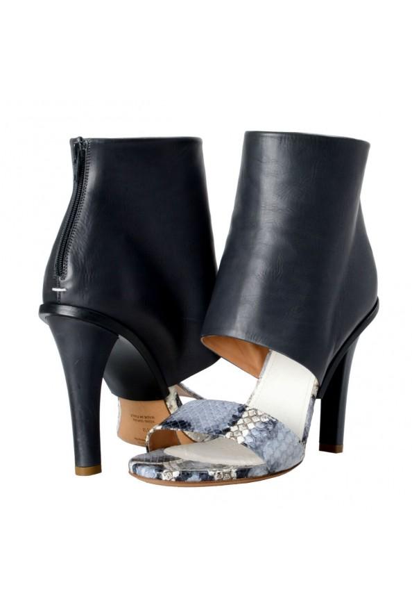 Maison Margiela 22 Women's Python Leather High Heel Sandals Shoes: Picture 7
