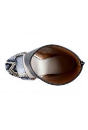 Maison Margiela 22 Women's Python Leather High Heel Sandals Shoes: Picture 8