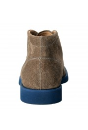 Tod's Men's Suede Gray Polacco Lace Up Ankle Boots Shoes: Picture 3