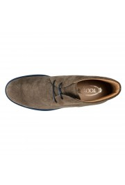 Tod's Men's Suede Gray Polacco Lace Up Ankle Boots Shoes: Picture 7
