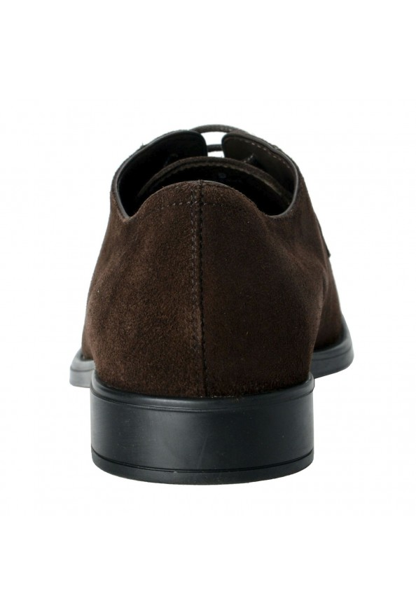Tod's Men's Suede Brown Derby Fondo Oxfords Shoes: Picture 3