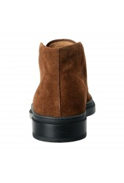 Tod's Men's Suede Brown Polacco Lace Up Ankle Boots Shoes: Picture 3