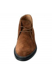 Tod's Men's Suede Brown Polacco Lace Up Ankle Boots Shoes: Picture 5