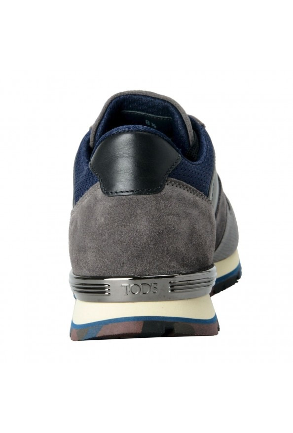 """Tod's """"New All"""" Men's Gray Lace Up Fashion Sneakers Shoes: Picture 3"""